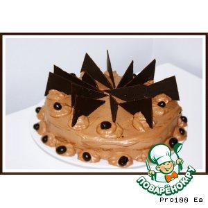 Рецепт: Бразильский шоколадный торт