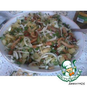 Рецепт: Салат Осенняя крошенка