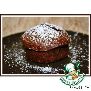 Рецепт: Шоколадные кексы с острым красным перцем