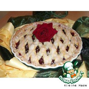 Рецепт: Сливовый пирог A la vanille