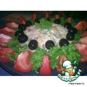 Рецепт: Салат Солнышко моe