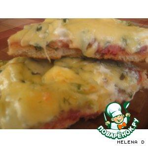 Рецепт: Быстро-пицца