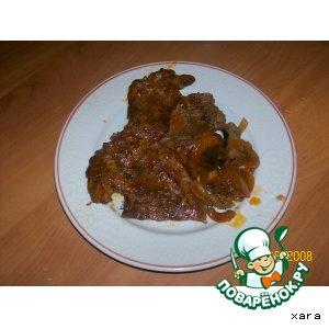 Рецепт: Мясо по-венгерски