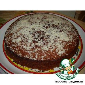 Рецепт: Сладкий пирог На скорую руку