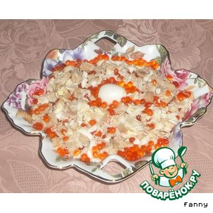 "Рецепт: Салат ""Морская жемчужина"""