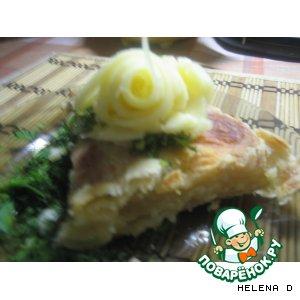 Рецепт: Хачапури с сыром сулугуни