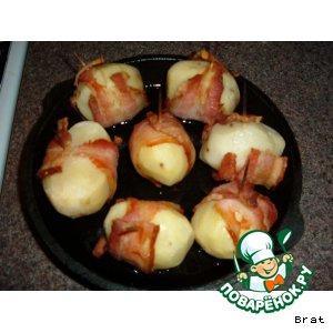 Рецепт: Картошка не в мундире - в пиджаке