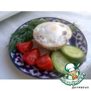 Рецепт: Тухум дулма - фарш с яйцом