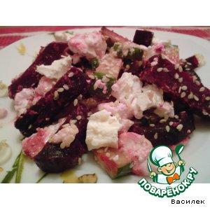 Рецепт: Салатик из свеклы