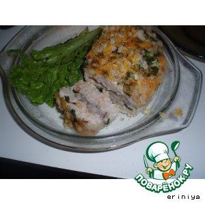 """Запеканка """"Курица в индюшке"""" – кулинарный рецепт"""