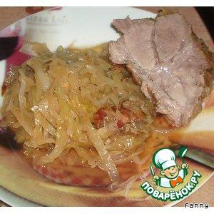 Рецепт: Свинина по-баварски