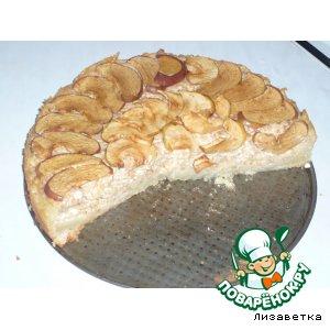 """Пирог """"Яблочно-творожный"""""""