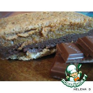 "Рецепт: Торт ""Шоколадное Амаретто"""
