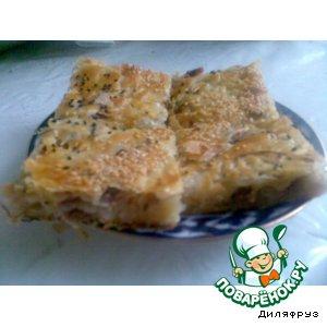 Рецепт: Слоеный пирог с мясом