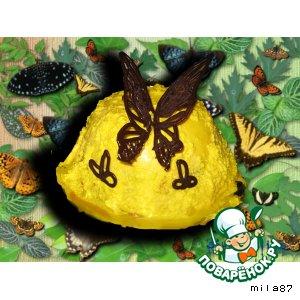 Йогуртное суфле Поцелуй бабочки
