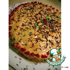 """Рецепт: Блинчатый пирог  """"Сладкая жизнь"""""""
