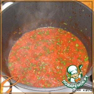 Рецепт: Соус томатный домашний
