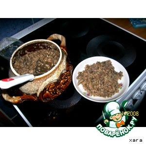 Рецепт: Гречневая каша с грибами