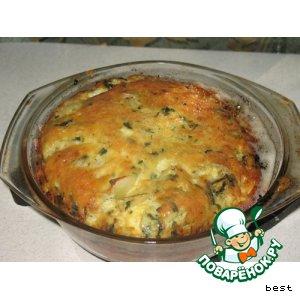Рецепт: Тарт из кабачков с сыром