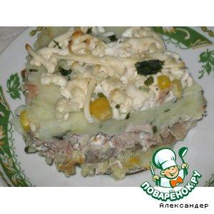 Запеканка с мясом и грибами – кулинарный рецепт