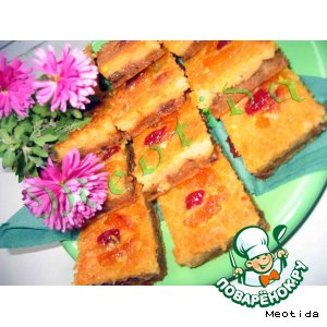 Рецепт: Пирожные Девчонки