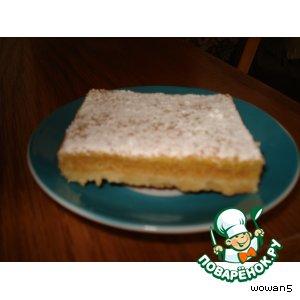 Рецепт: Пирог Цитрусовый восторг