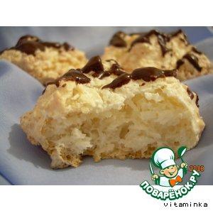 Рецепт: Кокосовое печенье Наслаждение