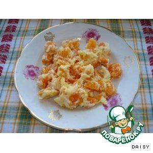 Рецепт: Тушеная морковь в молоке