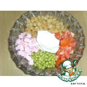 Рецепт: Салат Гости на пороге