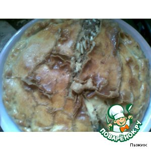 My favorite meat pie