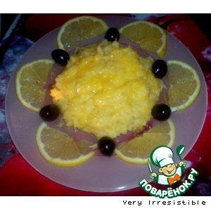 Рецепт: Лимонное ризотто