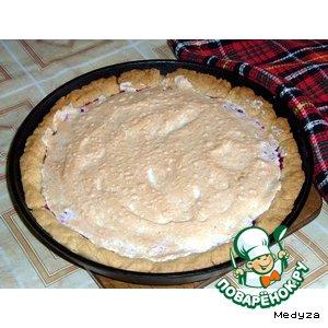 Сладкий пирог с клюквой – кулинарный рецепт
