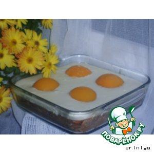 Рецепт: Торт Яичница-глазунья