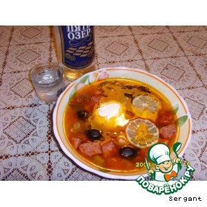 Рецепт: Солянка по-сибирски