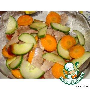 Рецепт: Салат из утиной грудки