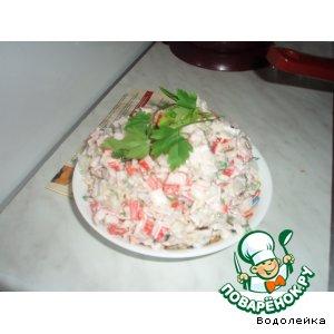 Рецепт: Салат с рамбутаном