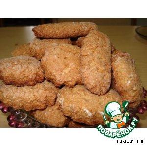 Печенье из семечек подсолнечника