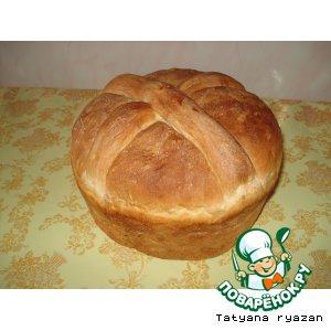 Рецепт: Бабушкин белый хлеб