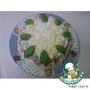 "Салат  ""Бешеная курица"" – кулинарный рецепт"