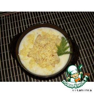 Рецепт: Суп-пюре из цветной капусты