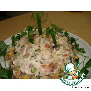 Рецепт: Салат сборный «Веселый»