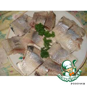 Salted herring home