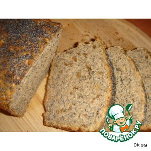 Рецепт: Хлеб с тремя видами семян