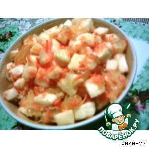Рецепт: Витаминный салатик