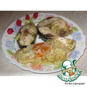Рецепт: Пеленгас с овощами