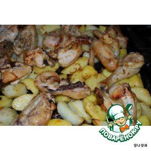 Рецепт: Курица по-мароккански