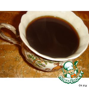 Рецепт: Кофе со жженым сахаром