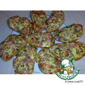 Рецепт: Бутерброд Пицца