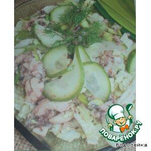 Рецепт: Салат с тунцом