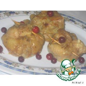 Рецепт: Куриные торбы